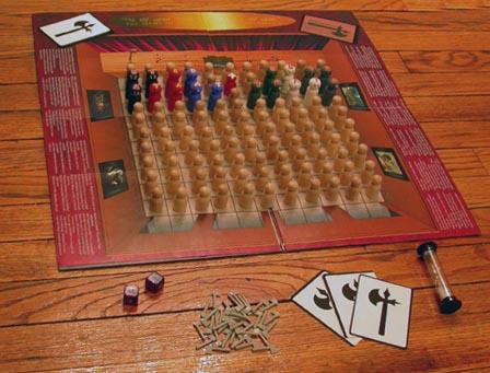 axe game board