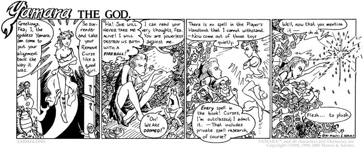 Yamara The God, Part 4: Fëa's Flesh-to-Plush