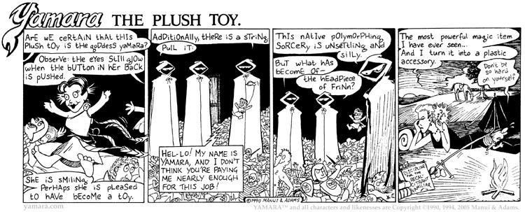 Yamara The Plush Toy